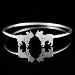 French Bulldog Cuff Bracelet – Creative Dexterity: French Bulldogs, Bulldog Cuff, Cuff Bracelets