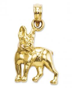 Love my Bostons!! 14k Gold Charm, Boston Terrier Dog Charm - Bracelets - Jewelry & Watches - Macy's: Boston Terrier Lola, Bostons 14K, 14K Gold, 14K Boston, Baaaston Terriers, Boston Terriers, Jewelry Charms, Charm Boston