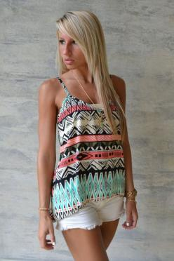 Pick Up The Pieces Tank $29: Cute Tops, Summer Outfit, Clothes Outfits, Cute Tank Tops, Pieces Tank