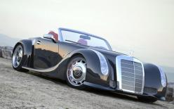 1955 Mercedes-Benz 300 SC Serves as Inspiration for Custom SLS AMG Roadster - WOT on Motor Trend
