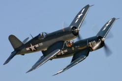 F4U Corsair...Never leave your Wingman