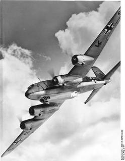 Focke-Wulf Fw 200 was a rare 4 engine plane built by the German Luftwaffe in WW2. 276 of these planes were built, for passenger and war duty. The plane was the 1st to fly non-stop from Europe to the US and did so before the war. It was the highest altitud