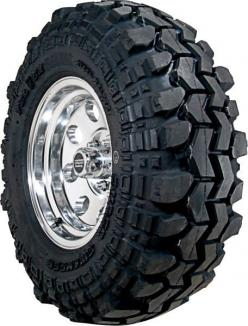 The Super Swamper TSL/SX was designed for extremely tough off road conditions where aggressive sidewall strength and protection is needed to withstand severe scuffing from ruts, snagging roots and rocks. This tire has a tough bias ply body with dual belts