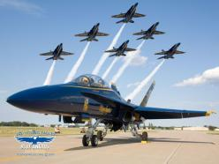 "Us Navys Blue Angels 1  ""Though I Fly Through the Valley of Death I Shall Fear No Evil For I am at 20,000 feet and Climbing."""