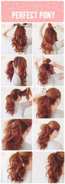 9 sassy hair tutorials ...Get more of us>>>.HAIR NEWS NETWORK on Facebook... https://www.facebook.com/HairNewsNetwork: Pony Tail, Pretty Ponytail, Hairdos, Hair Tutorial, Hair Do, Hair Style, Updo, Perfect Ponytail