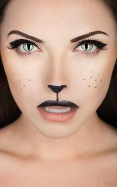 Amazing cat makeup [ CaptainMarketing.com ] #holiday #online #marketing: Cat Face, Kitty Cat, Halloween Costumes, Halloween Makeup, Makeup Ideas, Cat Makeup, Halloween Ideas, Halloweenmakeup