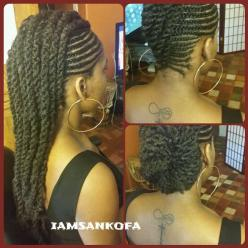 Braidhawk with Twists I want this hairstyle: Protective Hairstyles, Hair Styles, Black Hair, Protective Style, Braided Hairstyles, Hairstyles 2015, Natural Hairstyles, Braids Twist, Braid Styles