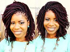 Crochet Braids? Shhhh...Don't Tell Nobody Else ;) see also: http://hairhair.co/