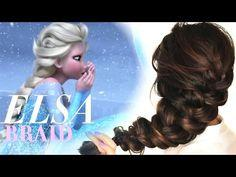 ★FROZEN ELSA'S messy BRAID HAIR TUTORIAL | CUTE HAIRSTYLES - YouTube<< this is what my hair looks like right now