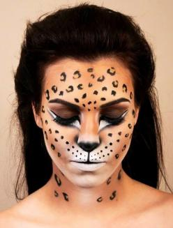 Leopard | 9 Ways You Can Be A Cat This Halloween: Cat Halloween Costumes, Leopard Print, Costume Ideas, Makeup, Halloween Makeup, Google Search, Face Paint, Makeup Ideas, Cats Halloween Costumes