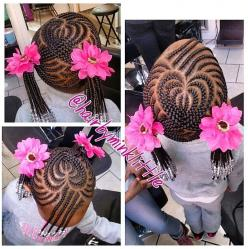 ***Little Girls Rock!!!: Black Kids Braided Hairstyles, Heart, Hair Styles, Kids Braids, Baby Girl, Girls Hairstyles, Girl Hairstyles, Kids Hairstyles, Natural Hairstyles
