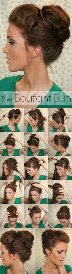 Lovely...HAVE YOU LIKED US YET? DON'T MISS OUT!!! HAIR NEWS NETWORK on FaceBook! http://on.fb.me/1rHyioW: Bun Hairstyles, Hair Styles, Hairdos, Hair Do, Updos, Bun Updo