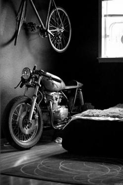 bedroom #motorcycle #motorbike: Motorcycle Racer, Motorbike S, Cafe Racers, Vintage Motorcycle, Bedroom Motorcycle