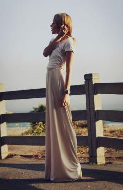 Classy and casual.: Maxi Dresses, Longskirt, Neutral Maxi, Dream Closet, Spring Summer, Outfit, Long Skirts, Maxi Skirts