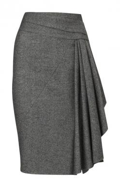 Google Image Result for http://www.hifrost.com/images/Karen_Millen_Skirt/Karen_Millen_Twisted_Tweed_Skirt_Grey216.jpg: Tweed Skirt, Gray Pencil Skirt, Grey Pencil Skirt Outfit, Cute Skirt, Karen Millen Dress