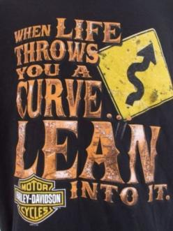 Harley Davidson Motorcycles T Shirt Large Scottsdale Arizona Life Curves Lean In $25.99: Biker Quotes, Harley Davidson Quotes, Harley Quotes, Arizona Life, Harley Davidson Motorcycles, Motorcycles Harley Davidson, Motorcycle Quotes, Harley Life, Life Curv