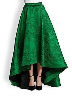 I truly think I would rather scrimp and save for this unbelievably embroidered emerald skirt than for rent.: Green Skirts, Long Formal Skirt, Long Skirts, High Low Skirt, Long Green Skirt, Long Emerald Dress, Formal Long Skirt, Emerald Green Skirt, Long S