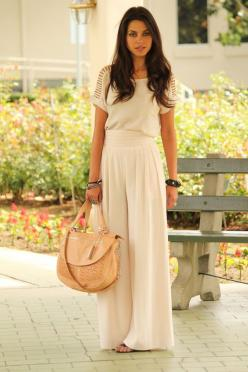 Oh hello spring. obsessed.: Maxi Dresses, All White, Summer Outfit, Palazzo Pants, Dream Closet, Spring Summer, Maxi Skirts