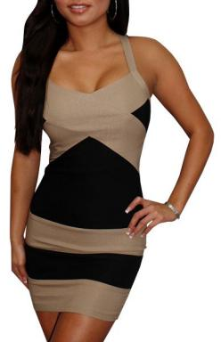 County Line (Tan/Black)-Great Glam is the web's top online shop for trendy clubbin styles, fashionable party dress and bar wear, super hot clubbing clothing, stylish going out shirt, partying clothes, super cute and sexy club fashions, halter and tube