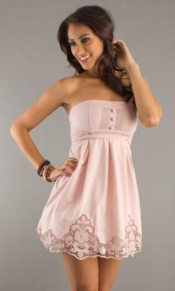 cute dress: Cute Dresses, Dream Closet, Prom Dress, Short Summer Dresses, Pink Dress