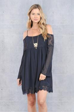 Lovely lace adorableness! <3: Pretty Dresses, Off The Shoulder Lace, Dress Coldshoulder, Lace Babydoll, Midnight Lace, Gypsy Dresses, Off Shoulder Dresses, Lace Dresses, Coldshoulder Lace