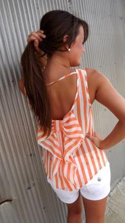 Orange Sherbet Bow Tank: Dream Closet, Cute Ideas, Tank Perfect, Sherbet Bow, Bow Tank Tops, Tank Adorable, Orange Sherbet