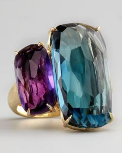 Amethyst & Topaz Ring by Marco Bicego at Neiman Marcus.