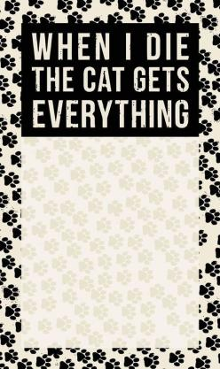 Cat Gets Everything: Cats, Products