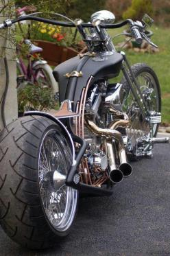 Custom motorcycle: Harley Davidson, Ass Bike, Custom Chopper, Motorbike, Cars Motorcycles, Custom Bike, Cars Bikes