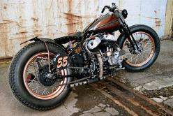 Harley WLC Custom - WWII Canadian Military Bike : Harley Davidson, Bobbers Motorcycles, Cars Motorcycles, Custom Motorcycles, Custom Bike, Cafe Racer, Bobbers Choppers Motorcycles