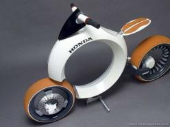 "Honda Cub Motorcycle concept vehicle, powered by a hydrogen fuel cell. (looks more like a ""rolling doughnut""): Concept Motorcycle, Hydrogen Fuel, Motorbike, Cub Motocycle, Concept Bike, Honda Motorcycles, Cub Motorcycle"