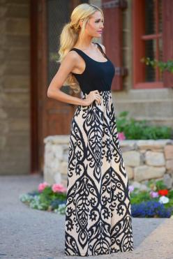 Maxi Dress: Summer Dress, Summer Maxi Dress, Summer Outfit, Black Maxi Dress, Street Style, Clothing Boutique, Maxi Dress Outfit
