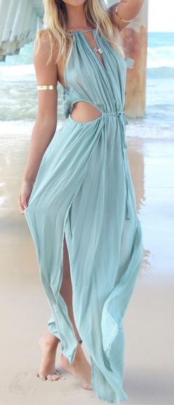 Mermaid maxi dresses: Flowing Dress, Bohemian Mermaid Wedding Dress, Mermaid Outfit, Boho Maxi Dress, Beachy Outfits Boho, Game Of Thrones Dress, Mermaid Inspired Outfits Boho, Game Of Thrones Outfit
