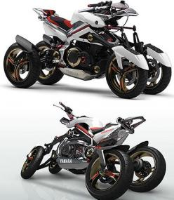 Mind-Blowing Motorcycles from the Future: Double Motorcycles, Blowing Motos, Future Motorcycles, Bike, Cars Motorcycles, Trikes Motorcycles, Wheel Motorcycle, Blowing Motorcycles, Motorcycles Atv