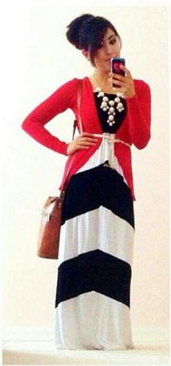 Modest outfit with a bubble necklace!: Modest Style, Maxi Outfits, Modest Outfits, Cute Outfits, Outfit Minus, Adorbs Outfit, Pretty Outfit, Beautiful Outfit