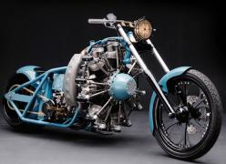 Radial Hell by West Coast Choppers, with 7-cylinder Rotec radial aircraft engine (http://www.jaylenosgarage.com/at-the-garage/motorcycles/radial-hell/): Cars Boats Motorcycles, Cars Motorcycles, Motorbike, Motorcycles Choppers, Awesome Motorcycles, Choppe