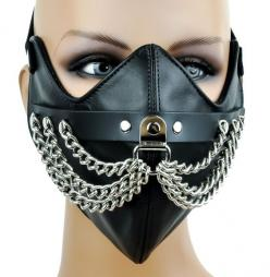 Silver Chain Motorcycle Riding Mask Biker Cosplay: Mask Biker, Chain Motorcycle, Biker Cosplay, Silver Chains, Motorcycle Stuff, Motorcycle Riding, Cosplay Tutorials, Motorcycle Quotes, Mask Divers