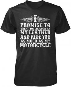 The Motorcycle Vow T-Shirt:  Tee Shirt, Motorcycles, Motorcycle Vow,  T-Shirt, Biker Quotes, Jersey, Bikers Body