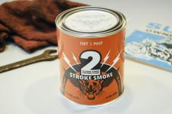Two Stroke Smoke Candle- a perfect gift for the motorcycle enthusiast in your life!: Gift Ideas, Garage Items, Gifts Stuff, Tiger Motorcycles, Digs Candle, Smoke Candle, Gifty Crafty, Ass Products