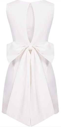Backless Bow Dress - perfect for rehearsal!