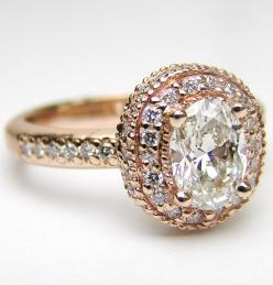 I have been very in love with Rose and Yellow gold rings as of late.  They are underated!