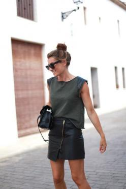 LOCATION in the moment w subtle smile and natural handbag position - crop appropriate for look - ambient/backlight