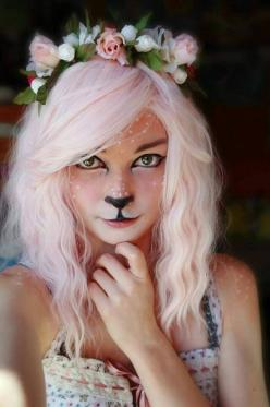 I know, it looks to innocent to be here...: Holiday, Halloween Idea, Halloween Costumes, Costume Ideas, Faun Cosplay, Cosplay Costume, Halloween Makeup, Costume Makeup, Halloweenmakeup