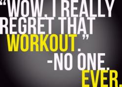 """Victoria Secret Original Gift Card - http://p-interest.in/ """"Wow. I really regret that workout.""""   - No One. Ever. bodyhack: Inspiration, Quotes, Weight Loss, Truth, So True, Regret, Fitness Motivation, Health, Workout"""