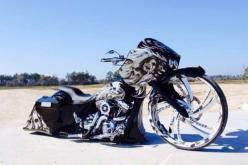 "2004 HARLEY DAVIDSON CUSTOM ROAD GLIDE SHOWBIKE 30""WHEEL BAGGER ROAD GLIDE CUSTOM 30"" WHEEL SHOW BIKE MAGAZINE BAGGER: Showbike 30Wheel, Wheel Bagger, Custom Harley Baggers, Ass Bikes, Custom Baggers, Bagger Road, Baggers Cycles Trikes Bikes, Cust"