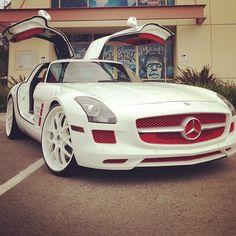 Beautiful White Chocolate & Cranberry MErcedes SLS!