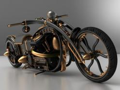 Black Widow steampunk chopper to scorch the road in style | Designbuzz : Design ideas and concepts.If I knew how to ride I would want it. Kitty: Steampunk Chopper, Steampunk Bike, Widow Steampunk, Steam Punk, Custom Bike, Cars Bikes