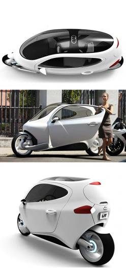 "C-1 ""Rolling Smartphone"" Electric Vehicle Concept: Motorcycle Car, Cars Motorcycles, Concept Bike, Electric Bike, Electric Vehicle"