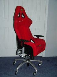 Ferrari Challenge Race Office Chair I want it: