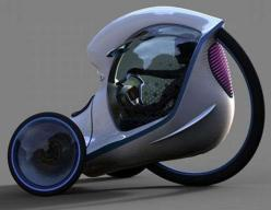 Futuristic Tricycle Concepts - The Citroen E-3POD Antistatic is an Awesome Compact Vehicle (GALLERY): Vehicle Designed, Compact Concept Car, Futuristic Vehicles, Concept Design, Future Bike, Awesome Compact, Concept Vehicle, Tricycle Concepts, Design Moto